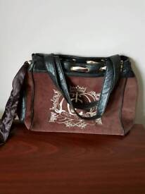 Juicy couture bag in brown with sash