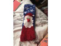 Santa slipper socks size 5-8