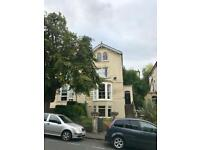 Large double room in garden flat, Cotham