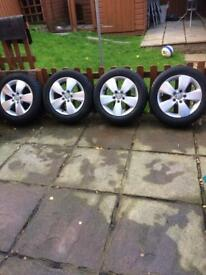 "16"" Volkswagen Golf alloys"