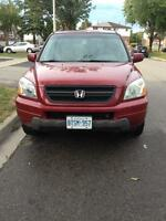 Honda Pilot in good running condition for sale