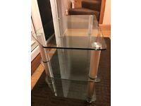 TV Glass Stand