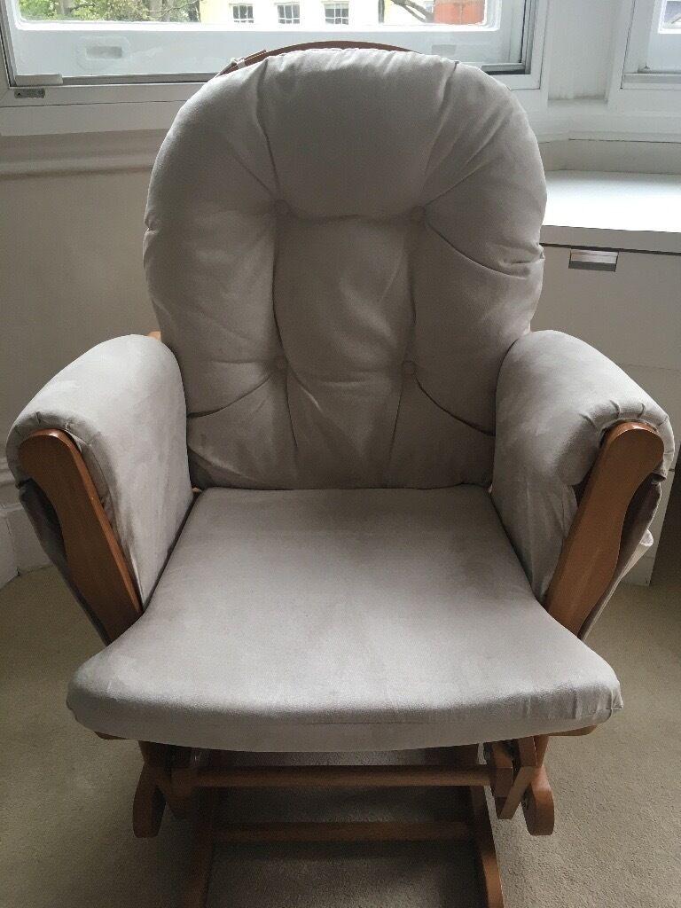 KUB Haywood nursing chair / glider and footstool