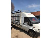 Ford Transit LWB High top van for sale complete with frail *needs work*