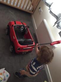Mini Coupar toy car