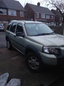 Freelander 1.8s, 04 plate , petrol