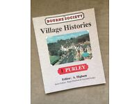 Village Histories PURLEY paperback book