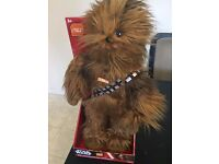 Star Wars Chewbacca Mega Poseable 24 inches Talking Plush