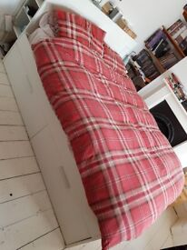 Ikea double bed with mattress!!