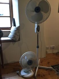 Two Electric Fans