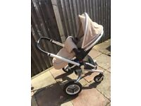 Silvercross surf complete travel system in sand