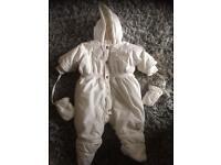 Baby Dior snowsuit