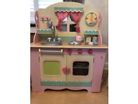 Elc wooden girls kitchen