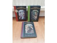 A Series of Unfortunate events Collection of 3 titles