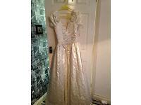 Wedding dress size 10