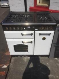 Full gas 90cm wide gas cooker with warranty!!!!