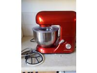 Deluxe Food Mixer Andrew James with all attachments and manual and recipe book