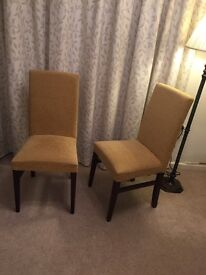 Pair of Laura Ashley dining chairs
