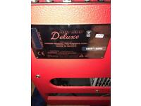 Fender Hot Rod Deluxe Amp - Red