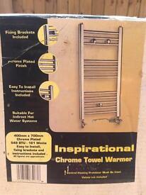 Towel rail warmer
