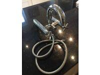 Porcelanosa Bath Filler Tap with Shower Valve