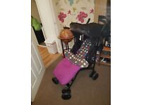 Various pushchairs, quinny zapp extra 2, maclaren techno xt and more