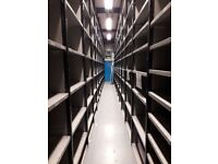 Link51 Euro Boltless Shelving System (2nd Hand) Excellent Condition
