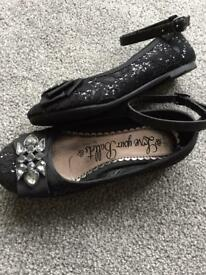 New Girls Size 12 Sparkly shoes