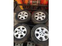 "Land Rover freelander 15"" alloys"