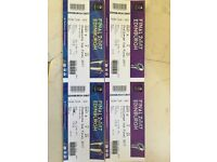 Tickets for both European Rugby Finals Murrayfield, Edinburgh May 12th and 13th