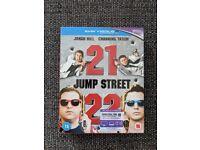 21 Jump Street/22 Jump Street Blu Ray (2D/Ultraviolet)