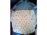 Miss Lulu - cloth bird print bag