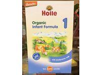 Organic infant formula (Holle) 14 unopened packs * 400 gr