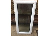 **UPVC**DOUBLE GLAZED WINDOW**FROSTED**£70**NO OFFERS**1 OPENING**GOOD CONDITION**MORE AVAILABLE**