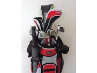 FORGAN / FAZER SET OF GOLF CLUBS COMPLETE WITH BAG & TROLLEY etc...