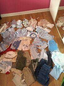 Baby boy bundle 0-3mnths