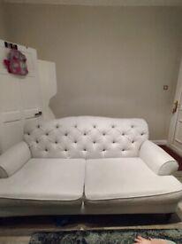 Argos grey 3 seater sofa