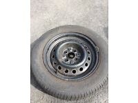 SPARE WHEEL RENAULT 4X100