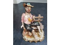 Capodimonte Tramp on a Bench