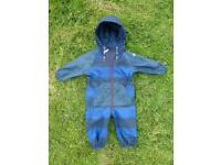 Next puddle suit 12-18m