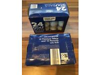 48 mixed recycled Golf Balls from Aldi