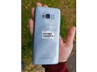 Unlocked Samsung Galaxy S8 Arctic Silver 64GB