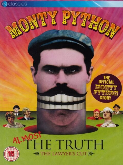 MONTY PYTHON - ALMOST THE TRUTH-THE LAWYER'S CUT  DVD NEU