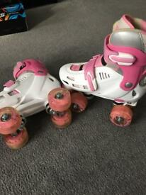 Adjustable skates size 12/2