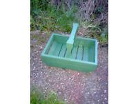 Home Made Garden Trug / Carrier / Planter