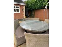 Garden table and chairs/ furniture