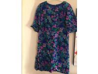 Vintage lined dress