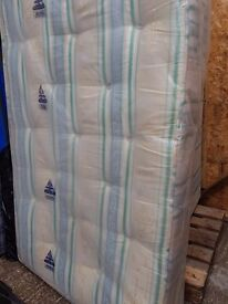 Mattress (new cond) 3 quarter size 42in by 75in