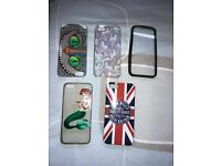 Bundle of iPhone 5/5s/5se phone cases