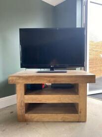 Oak Furniture Land Solid Wood TV Stand